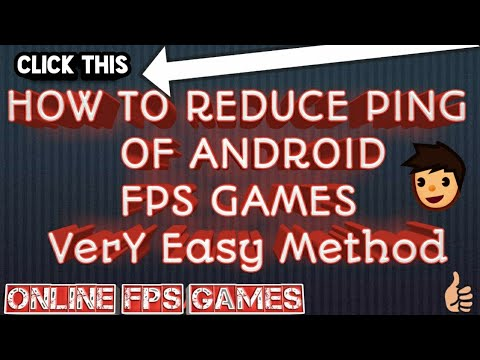 How to Reduce PinG(MS) for All FPS Games ANDROID(No Root)(99.9%working)(Easy:Free) with proof(2018)