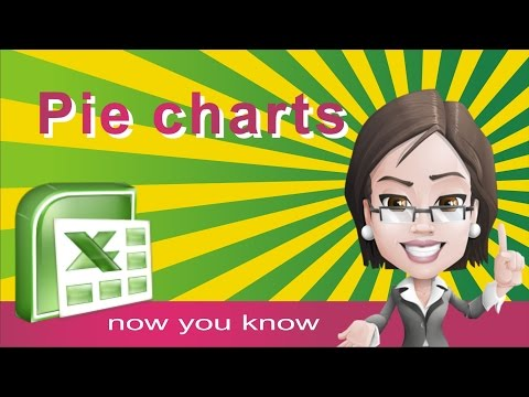 How to make PIE CHART - GRAPH  in excel  tutorial - Make, insert and modify