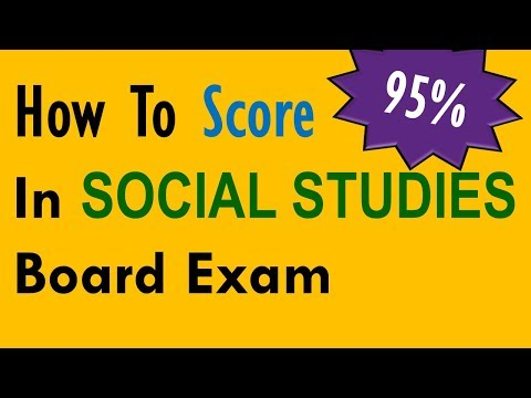 How to score 95% marks in Class 10 Social Studies Board Exam - Tips and Tricks