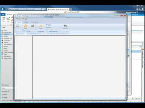 CRM 2011 Rollup 18, IE 11, Scanner Plug-in WIA