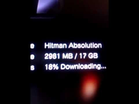 PS3 download speed