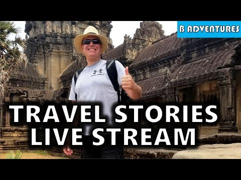 Live Stream: Philippines Travel Stories, Scott Lisenbury