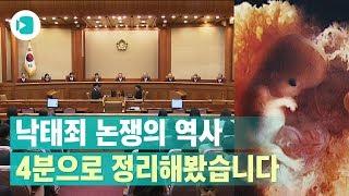 '태아 생명권' vs '여성 자기 결정권'…팽팽한 낙태죄 줄다리기의 역사 / 비디오머그