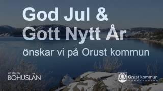 God jul från Orust - en del av Bohuslän