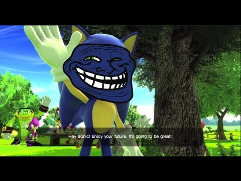 Sonic The Hedgehog - Hey Sonic Enjoy Your Future! Its Goin to be Great!