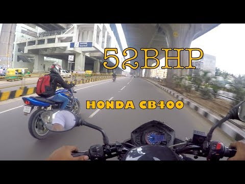 HONDA CB 400 VTEC !!! Sounds awesome | Imported bikes in India