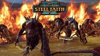 Total War Warhammer 2 Lord Skrolk - Epic Skaven vs  Lizardmen Quest