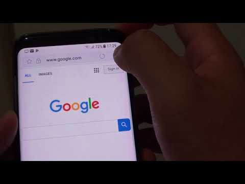 Samsung Galaxy S8: How to Enable / Disable Most Visited Webpages