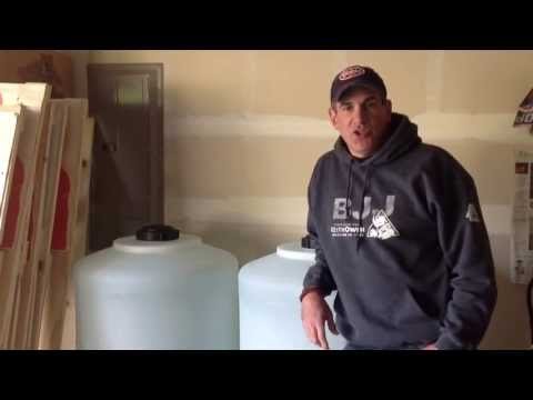 Survival Skills 101: How to Change Out Your Water Storage.