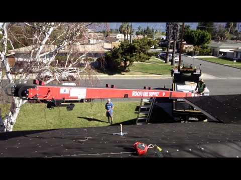 Loading A Comp Shingle Roof The Easy Way