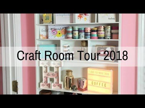 Craft Room Tour 2018