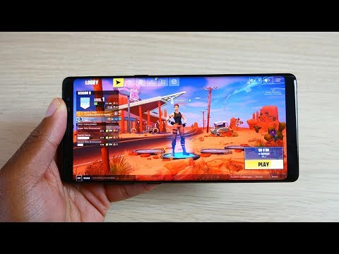 Fornite on Android Galaxy Note 8