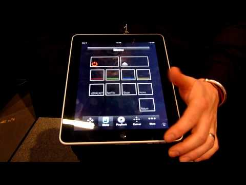 Panasonic Blu-Ray Disc™ Player remote control app demo (iPad™/iPhone™/iPod Touch™)