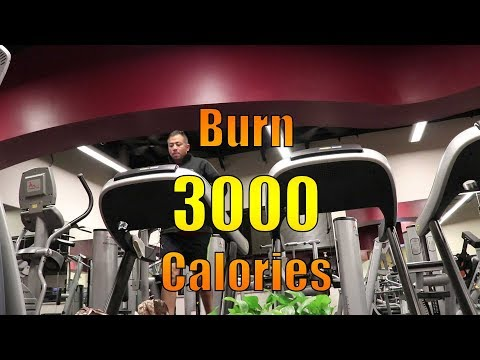 Burn 3000 Calories in one day for weight loss!