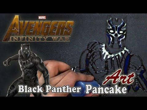 Avengers Infinity War | Black Panther | Pancake Art - Part 2.