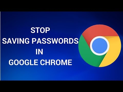 Do You Save Passwords Into Google Chrome? STOP IT.