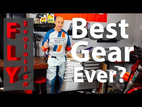 Is this the Best Gear I Own?   Fly Racing Evolution DST Gear Review