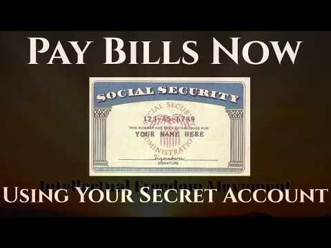 Harvey Dent, 'Pay Bills Now Using Your Secret Bank Account'