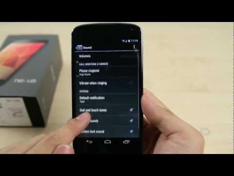How to Change the ringtone on Google Nexus 4 (LG)