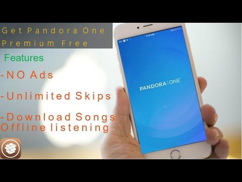 How To Get Pandora One Premium Free IOS 9.3.3 Jailbreak