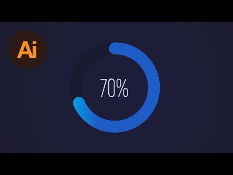 Learn How to Design a Circular Progress Bar in Adobe Illustrator | Dansky