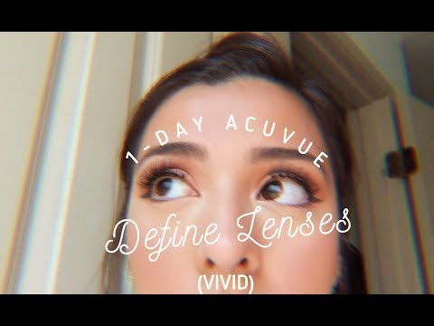 Review: Acuvue 1-Day Define Lenses (in the style Vivid)