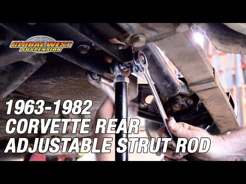1963-82 Corvette Rear Adjustable Strut Rods | Why Adjustable Strut Rods are Important!