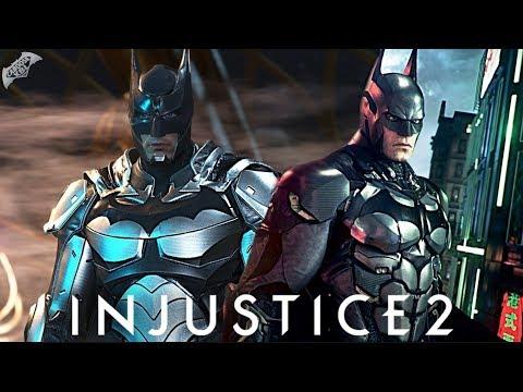 Injustice 2 Online - EPIC ARKHAM KNIGHT BATMAN LOADOUT!