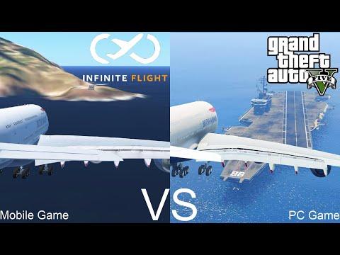 Infinite Flight VS GTA 5: Flight Simulation!