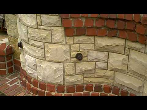 Outdoor Fireplace, Brick Oven, Gas BBQ, by Masonry Art, LLC
