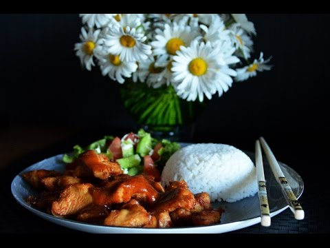 Bourbon Chicken - Chinese Dish