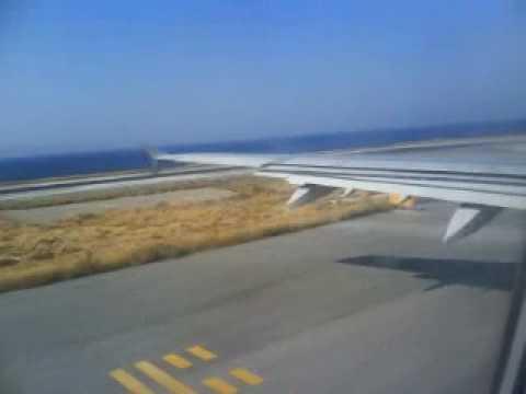 ΤCX315L TAXI AND TAKEOFF AT HERAKLION AIRPORT TO MANCHESTER.MP4