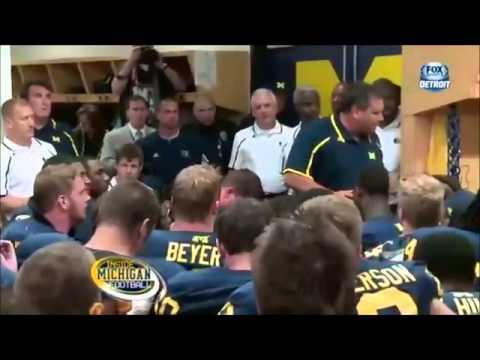 The University of Michigan Wolverines Football 2014