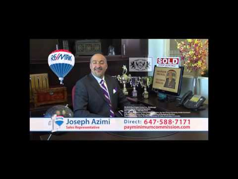 BEST REAL ESTATE AGENT IN TORONTO JOSEPH AZIMI