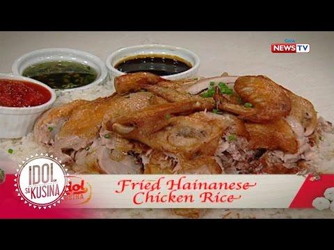 Idol sa Kusina recipe: Fried Hainanese Chicken Rice