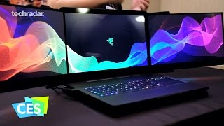Razer Project Valerie revealed at CES 2017: 11520 x 2160 Laptop