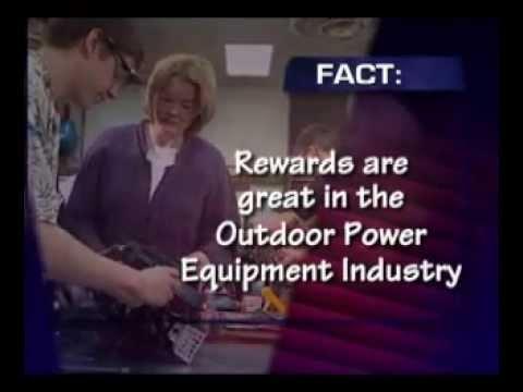 Explore your Future in Power Equipment Repair - POWER UP!