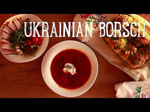 Authentic Ukrainian Borscht