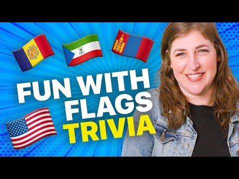 Fun with Flags Trivia! - The Big Bang Theory || Mayim Bialik