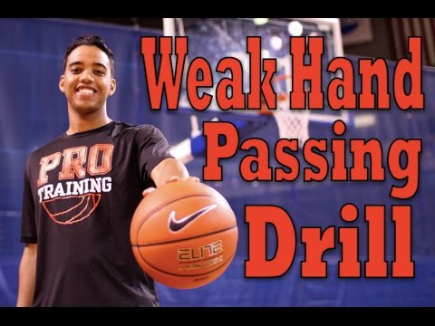 How To: Improve Your Weak Hand Passing   Weak Hand Dribbling & Passing Drill   Pro Training