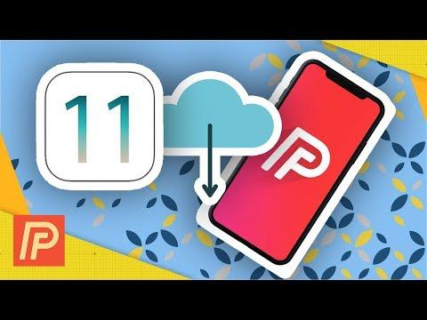 Backup iPhone To iCloud iOS 11