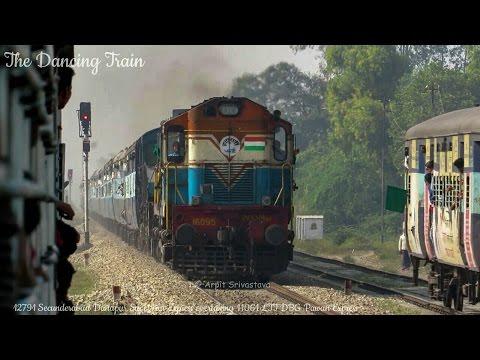 Indian Railways The Dancing Train 12791 SC DNR SF EXPRESS