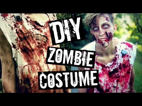 DIY ZOMBIE COSTUME | The Walking Dead Inspired