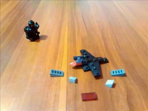 How To Build A LEGO Mini Jet Plane