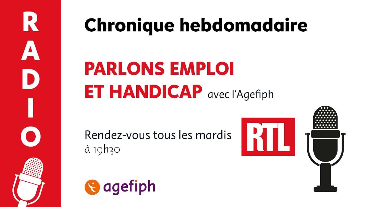 Chronique RTL & Agefiph   4 mai 2021   Clara, étudiante en alternance communication chez Michelin