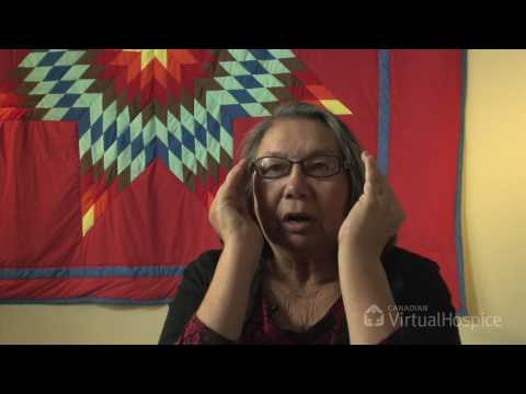 Elaine Lavallee: Self-smudging ceremony