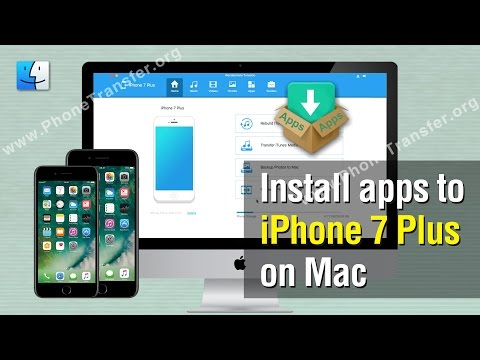 How to Install Apps to iPhone 7 Plus on Mac Without iTunes
