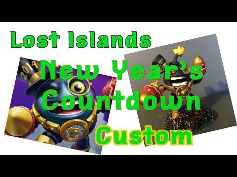 Skylanders Lost Islands Custom New Year's Countdown