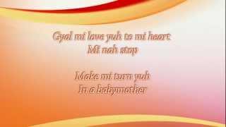 Vybz Kartel - Love Yuh To Mi Heart (lyrics on screen)