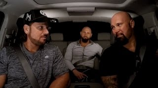 AJ Styles and The Club reminisce about growing up on WWE Ride Along on WWE Network